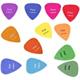 Sonline 12x guitarra electrica acustica escoge la pua Varios colores 6 Espesor Nueva