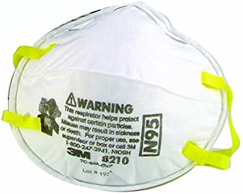 3m Dust Mask High 20-pack 8210 Efficiency