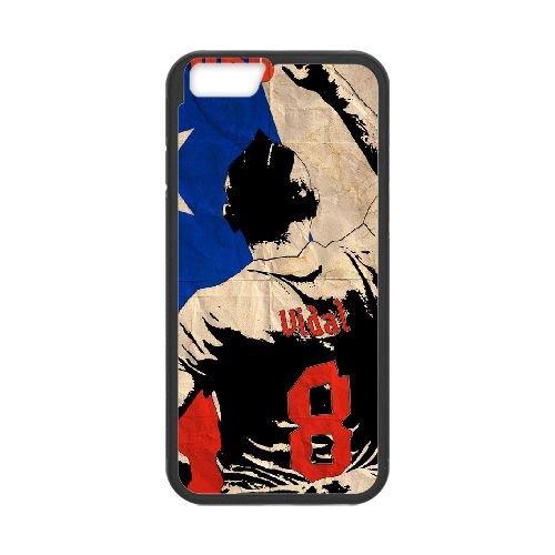 Arturo Vidal Black coque iPhone 6 Plus 5.5 Inch Housse téléphone Noir de couverture de cas coque EBDOBCKCO17615
