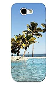 Ellent Galaxy Note 2 Case Tpu Cover Back Skin Protector Fiji Islands For Lovers' Gifts by icecream design