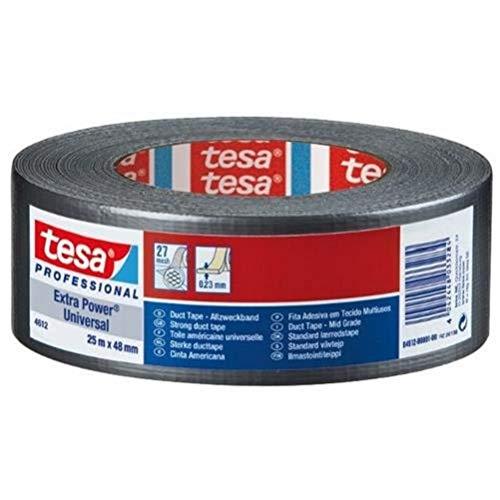 Cinta adhesiva americana gaffer tesa (25mx50mm), color negro