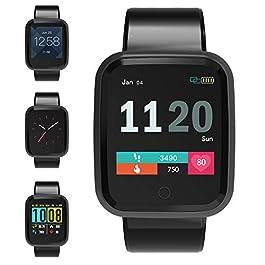 Fosun Smart Watch, Fitness Tracker Watch IP68 Waterproof for...