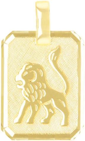 MyGold Sternzeichen Anhänger (Ohne Kette) Gelbgold 333 Gold (8 Karat) 21mm x 12mm Tierkreiszeichen Horoskop Kettenanhänger Goldanhänger Gaudino V0005552 (Löwe)
