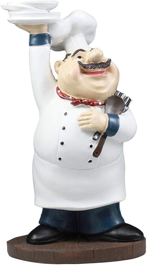 Fat Chef Solid Wood Napkin Holder Bistro Home decor New
