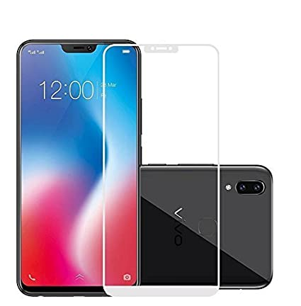 Fashionista 5d Tempered Glass For Vivo V9 Amazon In Electronics