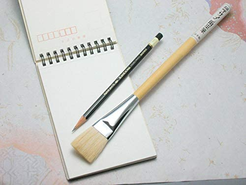 デザイン・日本画用筆 平筆9号
