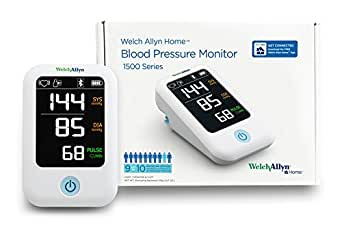 Welch Allyn Home 1500 Series Blood Pressure Monitor with Simple Smartphone Connectivity - RPM-BP100