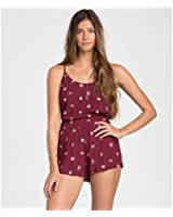 Billabong Womens Secret Moons Short Black Cherry