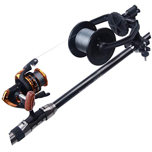(Fishing Line Spooler System - Portable Fishing Line Winder Reel Spooler Spooling Station Baitcast Line Spooling Machine Fishing Tool)