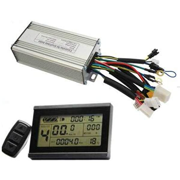 48V 30A KT Controller fr 1500W 1000W Brushless Motor Waterproof Electric Bicycle