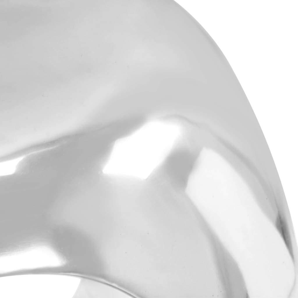 Tavolino da Salotto Colore: Argento vidaXL in Alluminio