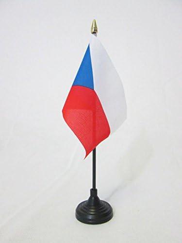 AZ FLAG Bandera de Mesa de la REPÚBLICA Checa 15x10cm - BANDERINA ...