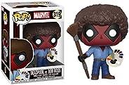 Funko Pop - Deadpool Marvel - Bob Ross - 319