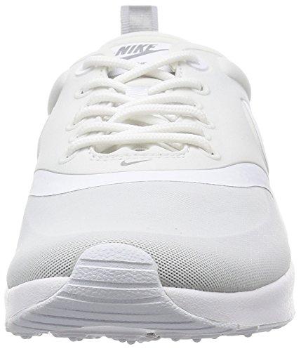White Zapatillas Metallic Silver Nike deporte White Wolf 100 Blanco 844926 de Mujer Grey qzz8fOZ