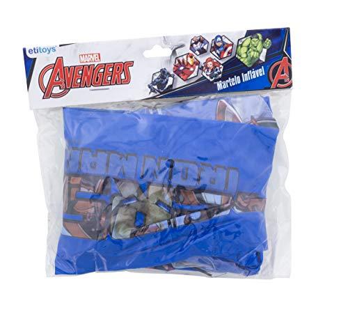 Martelo Inflavel 70x30 Avengers Etitoys Martelo Inflavel 70x30 Avengers Estampa Avengers