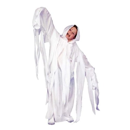 Ghostly Ghost Child Costume By RG Child Small (Party City Ghost Costumes)