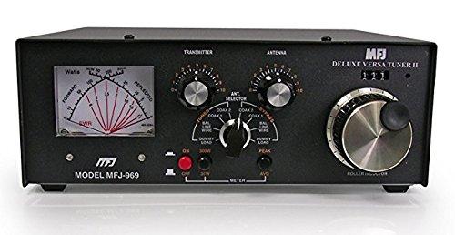 MFJ-969 Amateur Radio Deluxe HF Antenna Tuner w/Built-in 4:1 Balun 300W 6-160 Meters
