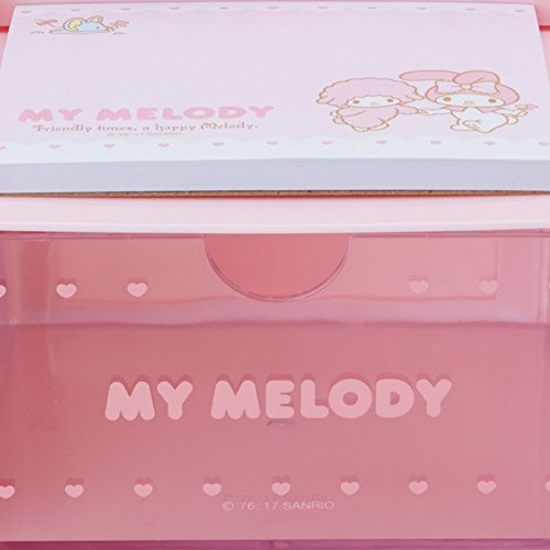 My Melody Desktop Chest With Memo Pad: Pink by SANRIO (Image #4)