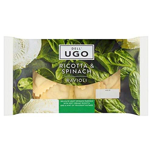 - Dell'Ugo Spinach & Ricotta Ravioli - 250g (0.55 lbs)