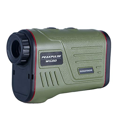 (PEAKPULSE 7S Golf Rangefinder with Slope, Golf Laser Range Finder with Slope Compensation, Flag Acquisition Technology, Scan, Pulse Vibration and Fast Focus System. Perfect For Golfers of All Abilitie)