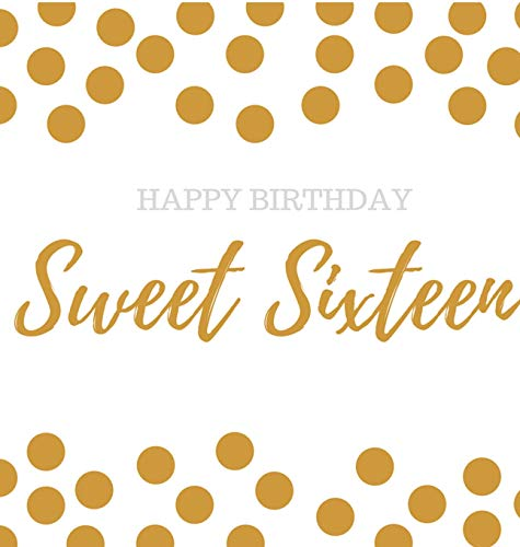 - Happy 16th Birthday Guest book Sweet Sixteen: Guest book, party and birthday celebrations decor, memory book, scrapbook, 16th birthday guest book, ... guestbook, celebration parties, message