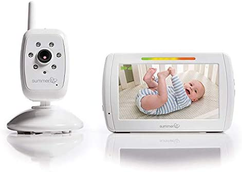 Summer Infant In View Video Baby Monitor with 5-inch Screen and Camera