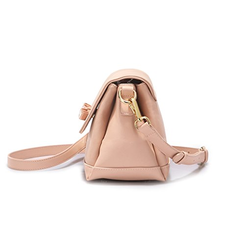 Decoration Messenger Female Small Shoulder Bag Square Bow Simple Wild Package Ladies Yqwx7vv