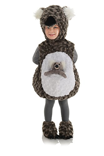 Underwraps Toddler's Koala Belly Babies Costume
