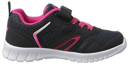 Lico Skip Vs, Zapatillas Para Niñas Gris (Anthrazit/pink)