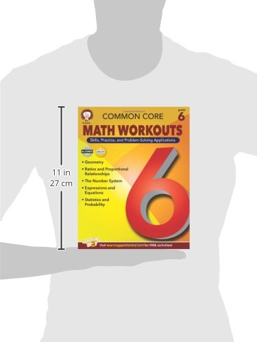 Common Core Math Workouts, Grade 6: Karice Mace, Keegen Gennuso ...