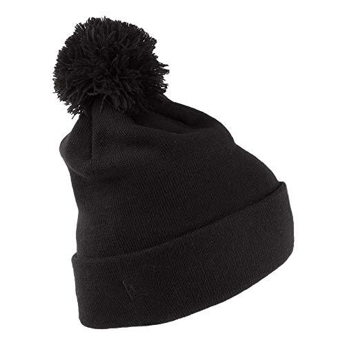 d9d76258 New Era Hats New York Yankees Heart Knit Bobble Hat - Black 1-Size ...