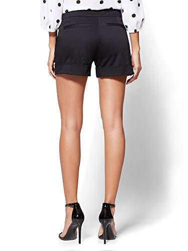 New-York-Co-Womens-7Th-Avenue-4-Short-Modern-Black