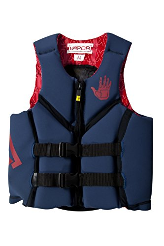 Body Glove Men's Vapor X U.S. Coast Guard Approved Neoprene PFD Life Vest, Blue, X-Large