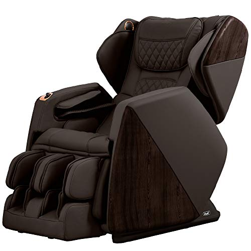 Osaki Os-Pro Soho 4D Zero Gravity Massage Chair, Foot Rollers, Hide-able Footrest (Brown)