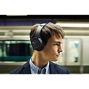 Sony MDR-ZX770DC Bluetooth and Noise Canceling Headphones /Headset With Case - MDRZX770DC (Black)
