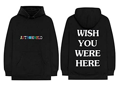 e67e9b56b1cd Travis Scott Astroworld Tour Merch Hoodie 100% Authentic Real Sold Out Rare  (X-
