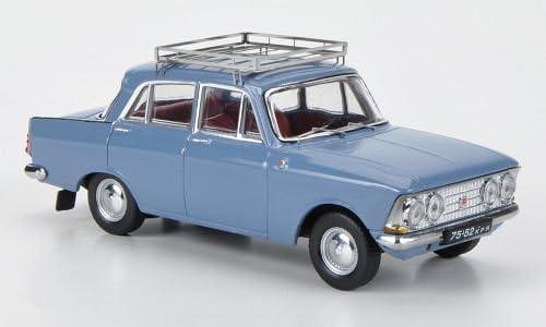 1966 Modellauto Moskwitsch 408E IST Models 1:43 blaugrau Fertigmodell