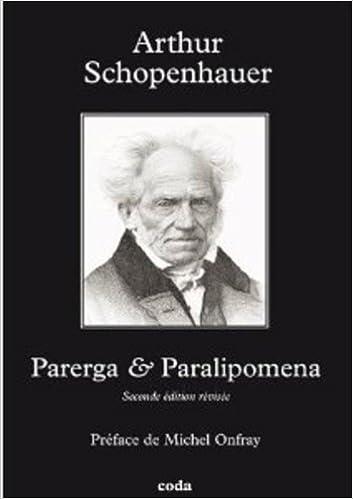 Téléchargement Parerga et Paralipomena pdf epub