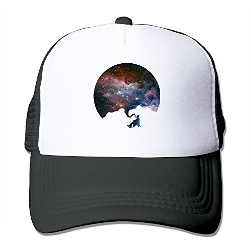 YSDISJE Space Galaxy Nebula Smoker Mesh Hat Men Womens Baseball Cap For Boys Girls Slogans Adjustable Snapback Hip Hop Cool Trucker Plain Flat Hats For Dance,Neo-Jazz,Street Jazz,Reggea