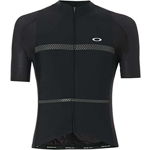 Oakley Men's Jawbreaker Premium Jersey Shirts,2X-Large,Blackout