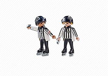 Playmobil - Árbitros de Hockey Sobre Hielo (61910): Amazon.es: Juguetes y juegos