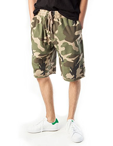 Rebel Canyon Young Men's Camo Jogger Short