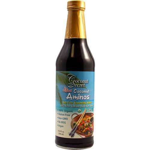 Coconut Secret The Original Amino Soy-Free Seasoning Sauce, 16.9oz (pack of 2)