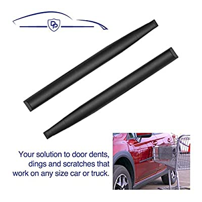 Dent Prevent Removable Magnetic Car Door Protector, 2-Pack Door Ding Protector for 2 Doors, Extendable to Fit All Car and Truck Doors with High Energy Magnets, Prevents Dents, Scratches and Dings: Automotive