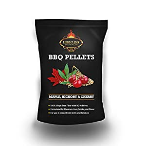 Lumber Jack 20-pounds BBQ Grilling wood pellets, Maple-Hickory-Cherry (MHC) from legendary Lumber Jack