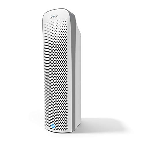 Pure Enrichment PureZone Elite - Ultra-Quiet 4-in-1 True HEPA Air Purifier with Smart Air Quality Monitor - Safely Eliminates Dust & Odor from Smoke, Pets, Cooking & More