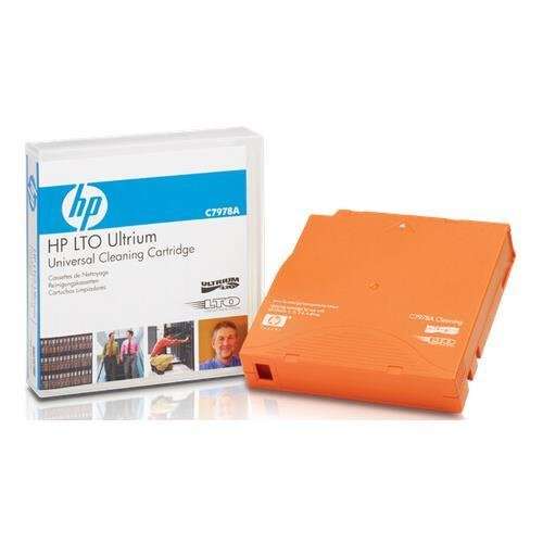 Hewlett Packard C7978A LTO - HP LTO Ultrium Universal Cleaning Cartridge (15-50 Cleanings) (20/Ctn) by HP