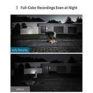 eufy Security Floodlight Camera, 1080p,2-Way Audio, No Monthly Fees, 2500-Lumen Brightness, Weatherproof, HomeBase Not…