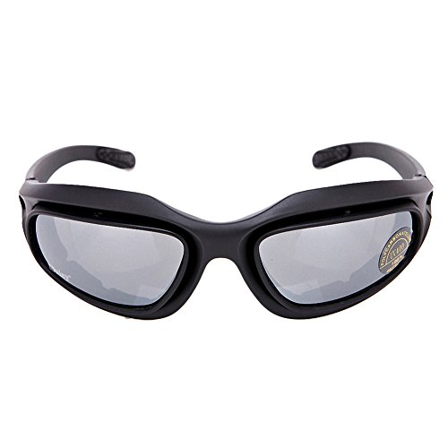 DAISY Tactical Goggle in Black Frame,More Lens Colors Available.