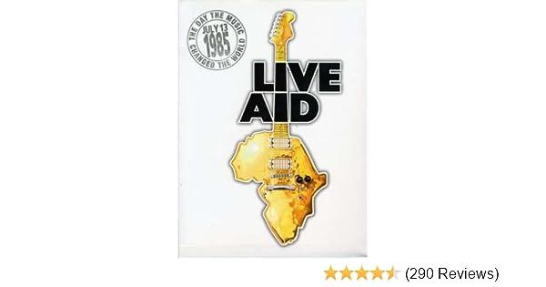 Amazon com: Live Aid (4 Disc Set): Bob Geldof, Bryan Adams, Stuart